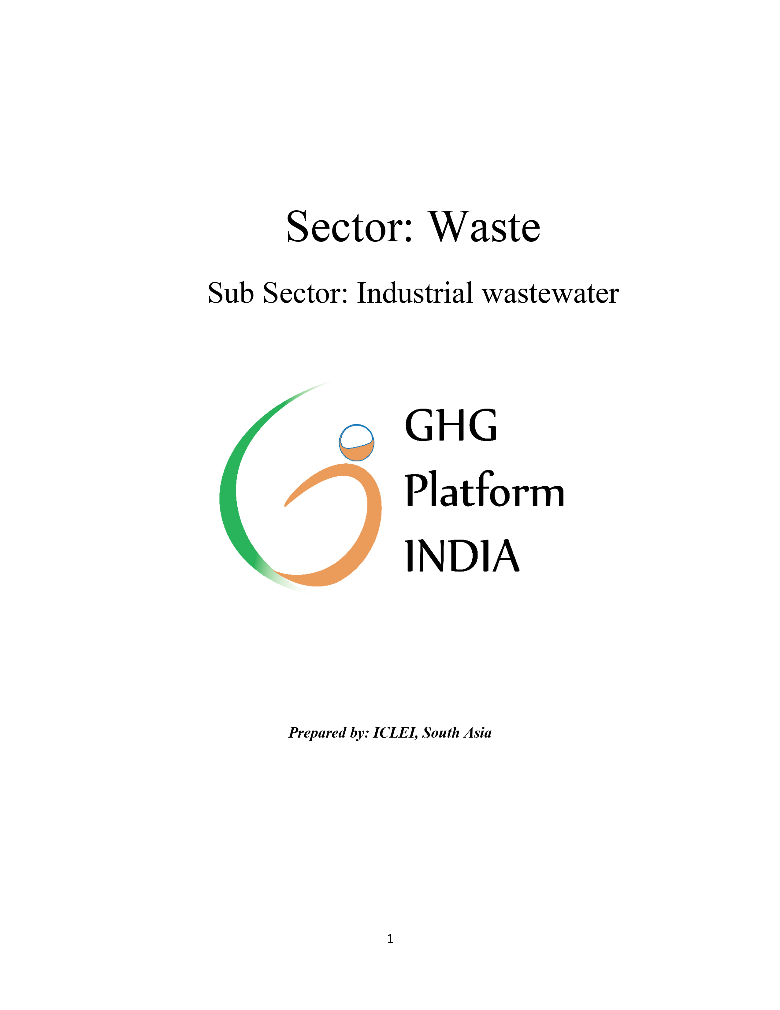 Waste-Industrial Wastewater