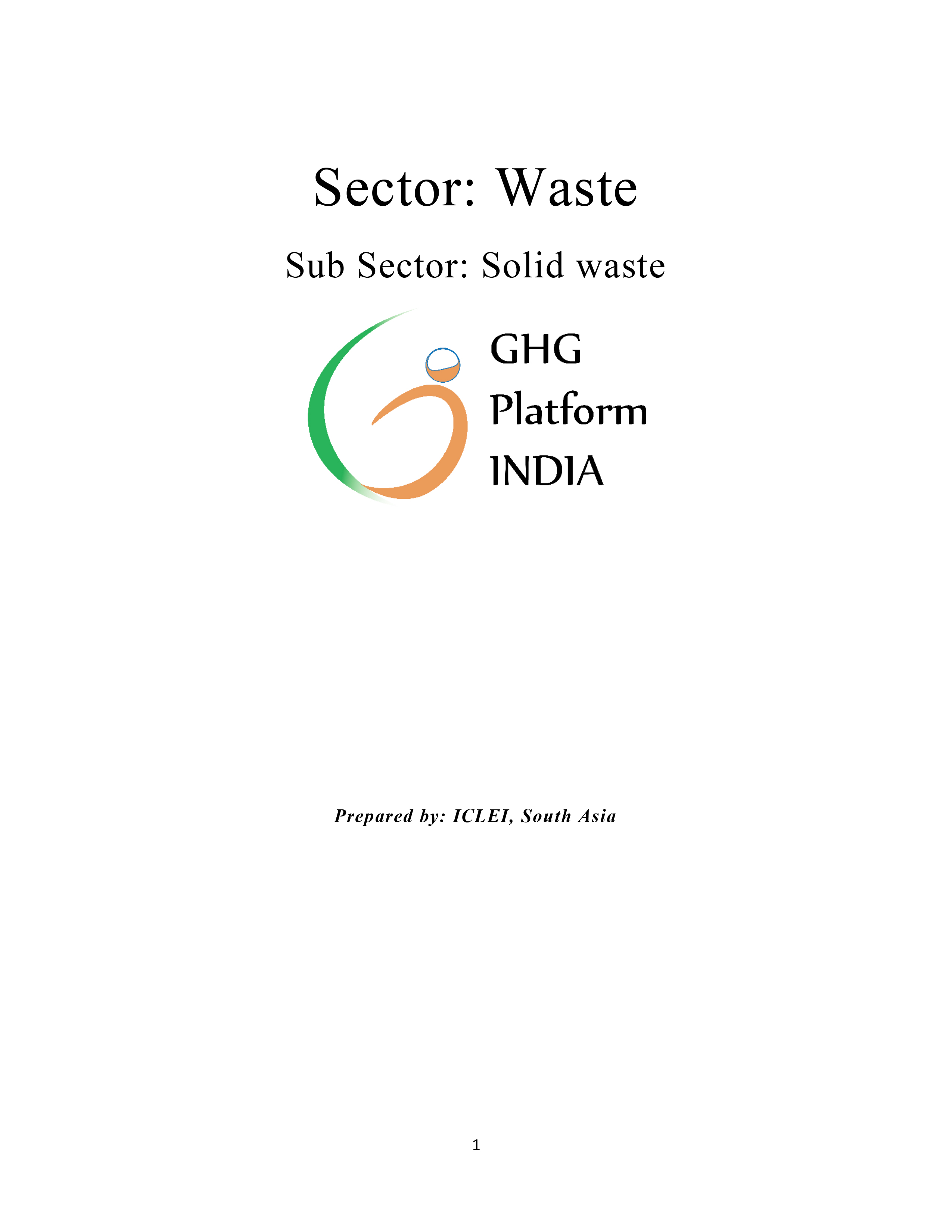 Waste-Municipal Solid Waste
